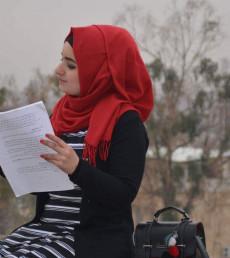 ضحى الشبكي: استغلت النزوح للتحرر من القيود