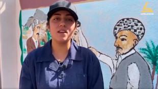 شباب متطوعين عرب، كورد وتركمان يزينون جدران داقوق بصور تعبيرية عن التعايش والسلام