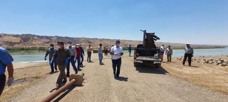 Mekhul Barajı'nın inşası için çalışmalar başladı, mağdurlara tazminat ödenmedi