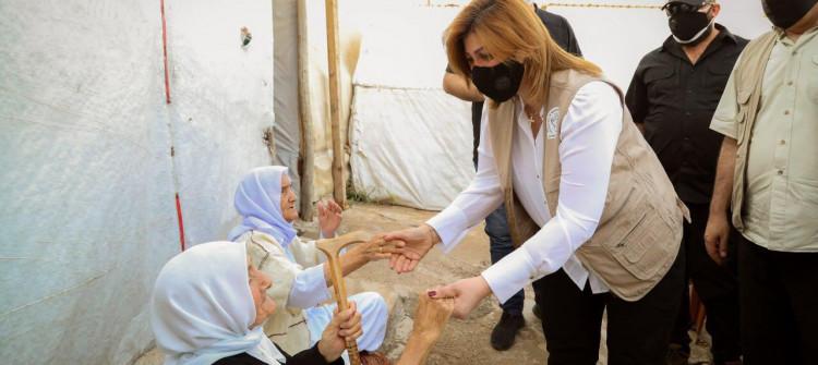 وزيرة الهجرة: عازمون على غلق ملف النزوح من خلال العودة الطوعية