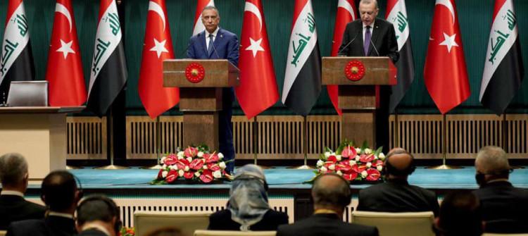 الكاظمي يختتم زيارته لتركيا.. <br> اردوغان: نرغب في ضخ نفط كركوك إلى الأسواق العالمية بكميات أكبر