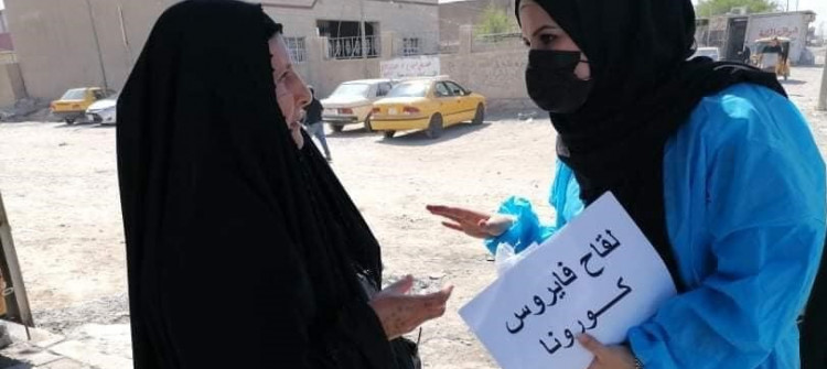 10% of Iraqis vaccinated to fight Covid-19 pandemic and infodemic