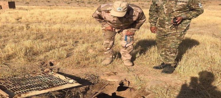 بهدف وضع حد لنشاط داعش..<BR>وضع نقاط مراقبة عسكرية قرب نهر الوند بقضاء خانقين