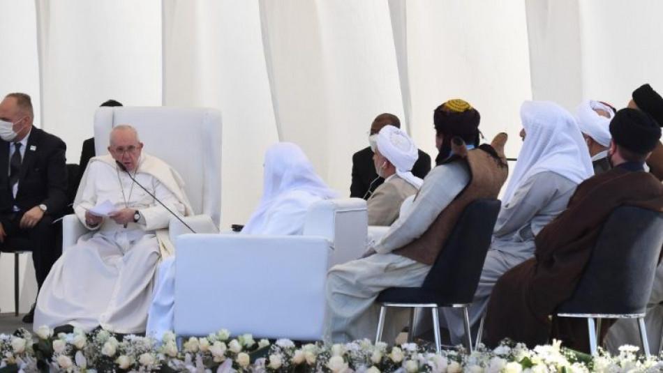 بحضور ممثلي الاقليات..<br> ماذا قال بابا فرنسيس عن الموصل بصلاته في مدينة اور؟