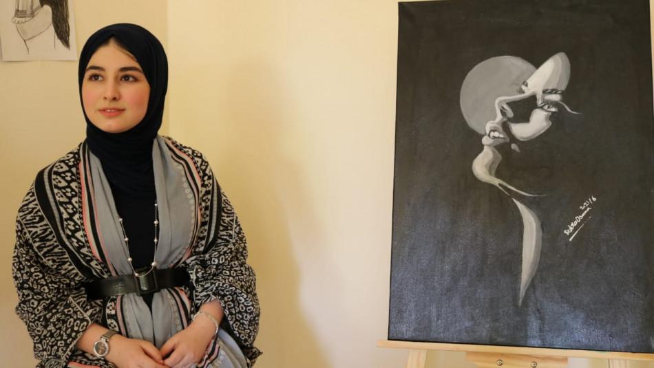 Sadra: the teen painter