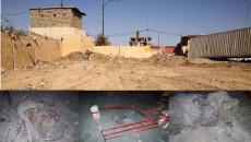 ŞENGAL- İlçe merkezindeki toplu mezar kazılmayı bekliyor