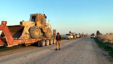 Irak askerleri IŞİD mensuplarının peşinde