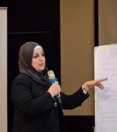 Marwa al-Khashab: Marriage and kids won't stop dreams of women