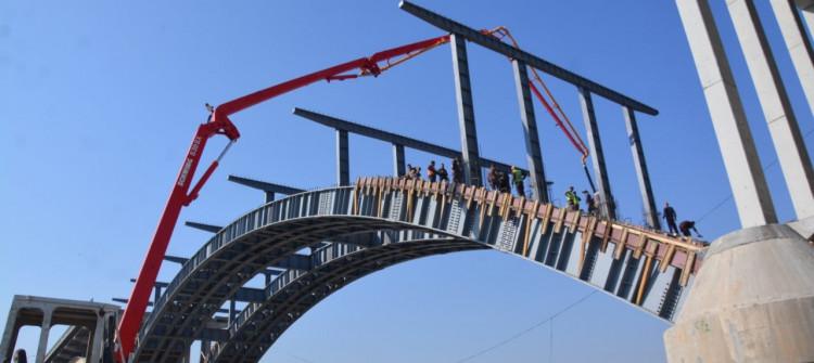 Ninova'da 3 yıl aradan sonra köprüler inşa ediliyor