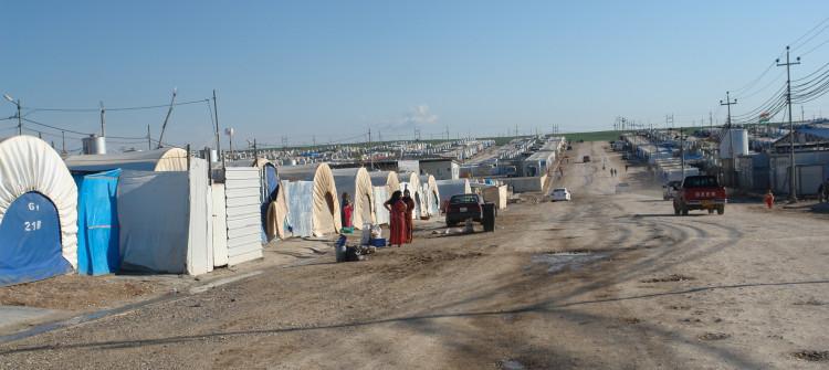 Duhok'taki göçmenler: Bizi geri dönmeye zorluyorlar, baskılara boyun eğmeyeceğiz