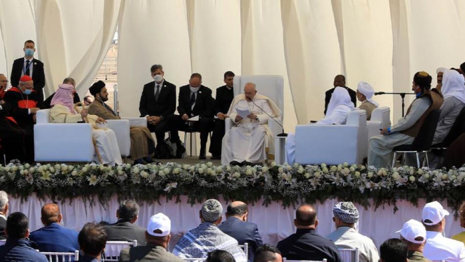 Papa antik Ur şehrini ziyaret etti