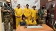 """اعتقال عصابة مؤلفة من خمسة أشخاص <br>تحرير امرأة """"مختطَفة"""" كان بحوزتها 150 مليون دينار"""