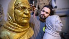 النحات نينوس يسرد بأنامله الدمار الذي خلّفه داعش