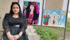 Fatima presents her talents on International Women's Day