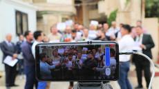 Kürtçe eğitim veren öğretmenler bir kez daha gösteri düzenledi