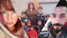 American Sevi visits Iraq to meet her lover