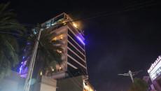 Kerkük'te hotelde yangın:30 kişi yoğun dumandan etkilendi