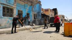 Bir kadın yaralandı ve altı araba zarar gördü<br>Kerkük'teki Bedir örgütünün önünde dikilmiş bir bomba patladı