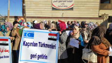 Turkmen women call to uncover fate of 1300 missing Turkmen abducted by ISIS