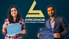 KirkukNow awards best two articles showing the power and success of women on International Women's Day