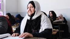 Women flock to illiteracy eradication centres