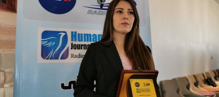 KirkukNow'a insan hakları dalında 'en iyi araştırmacı haber' ödülü