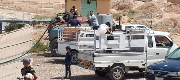 أزمة مياه خانقة في طوز خورماتو