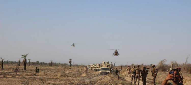 Iraqi forces and Peshmerga set up 10 military outposts in disputed areas