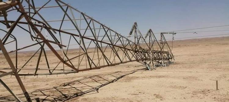 Kerkük Elektrik Müdürlüğü: Son 5 hafta içinde 177 elektrik direği sabote edildi