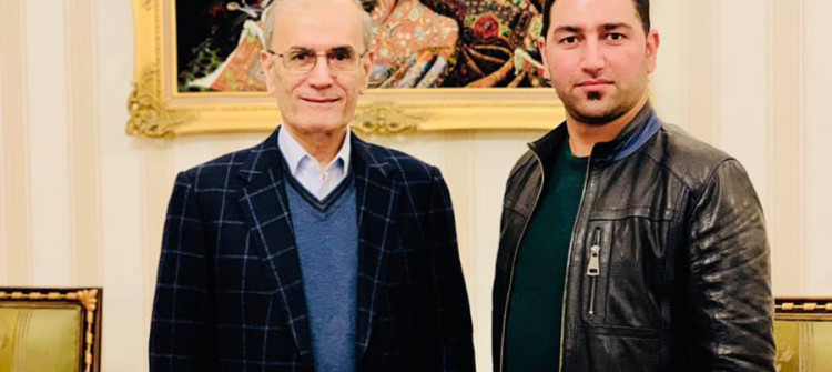 السكرتير الصحفي لمحافظ كركوك السابق ينشر معلومات متناقضة حول الحالة الصحية لنجم الدين كريم