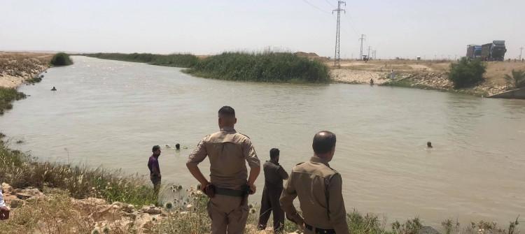 غرق شقيقتين في مشروع ماء تازة جنوبي كركوك