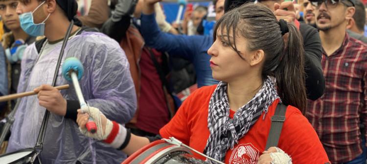 التظاهرات خمدت، لكن الحراك مستمر<br> ناشطو تظاهرات تشرين في مرحلة النضال السري