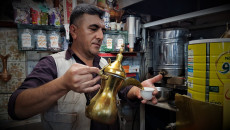 Khalil's coffee shop in Kirkuk brings all ethnic communities together