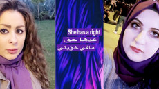 Iraqi women activists and journalists launch a campaign to support women and combat domestic violence