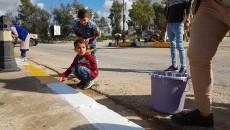 بالصور.. نساء واطفال تلعفر يشاركون بتزين مدينتهم ويبعثون رسالة في التماسك الاجتماعي