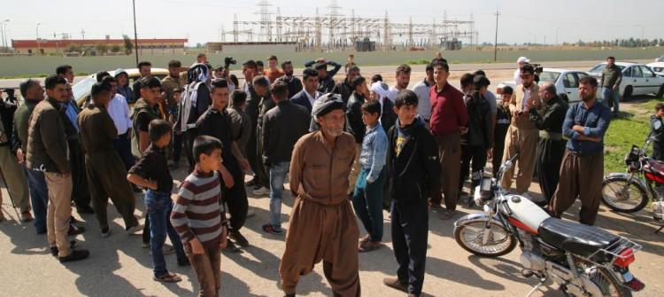 """قرية في كركوك مهددة بالترحيل والاهالي يحذرون من """"سفك الدماء"""""""