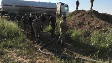 احباط محاولة لسرقة النفط الخام شمال غربي كركوك (صور)