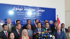 اختيار منصور المرعيد محافظا لنينوى وسيروان محمد نائبا له