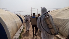 IDPs are under coronavirus lockdown and lack medical supplies