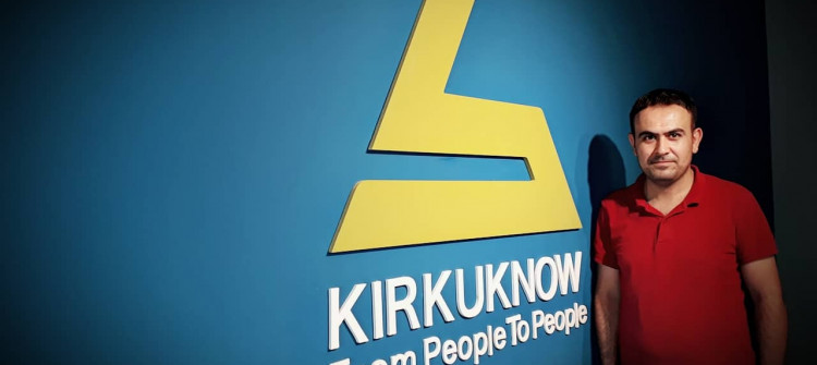 A KirkukNow follow-up wins third place in journalism contest