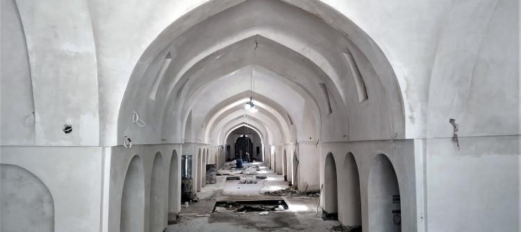 Renovation of burnet Kirkuk historic Qaysariah finished