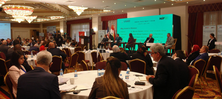 Ninewa Investment Forum wraps up <br> Offering facilitation and loans cited as key to boost investment in Ninewa
