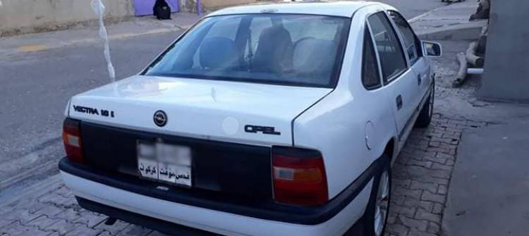 اعتقال عصابة متخصصة بسرقة سيارات اوبل في كركوك