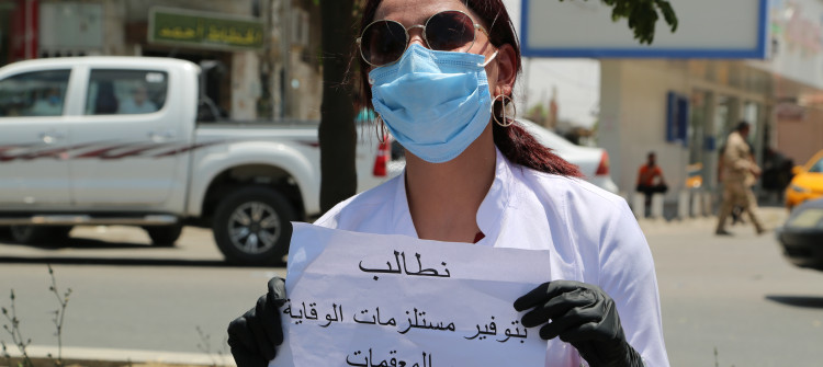 Two hundred health professionals in Kirkuk diagnosed with COVID-19