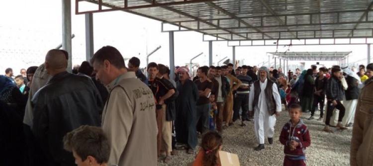 في كركوك..القبض على مطلوبين داخل مخيم للنازحين والحشد يعلن اسقاط طائرة