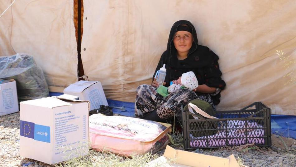 تقليص اعداد مخيمات نينوى للنازحين