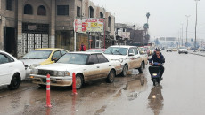 Drivers wait for hours to refuel their cars in Mosul amid fuel shortage