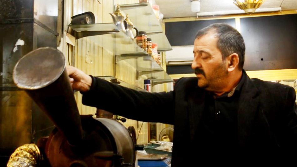 Mosul's oldest coffee shop has a special taste