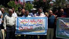 عمال معمل اسمنت ليلان يطالبون بحقوقهم المالية