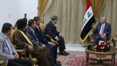 ممثلين عن قضاء داقوق يبحثون عن حلول لمشاكلهم في بغداد